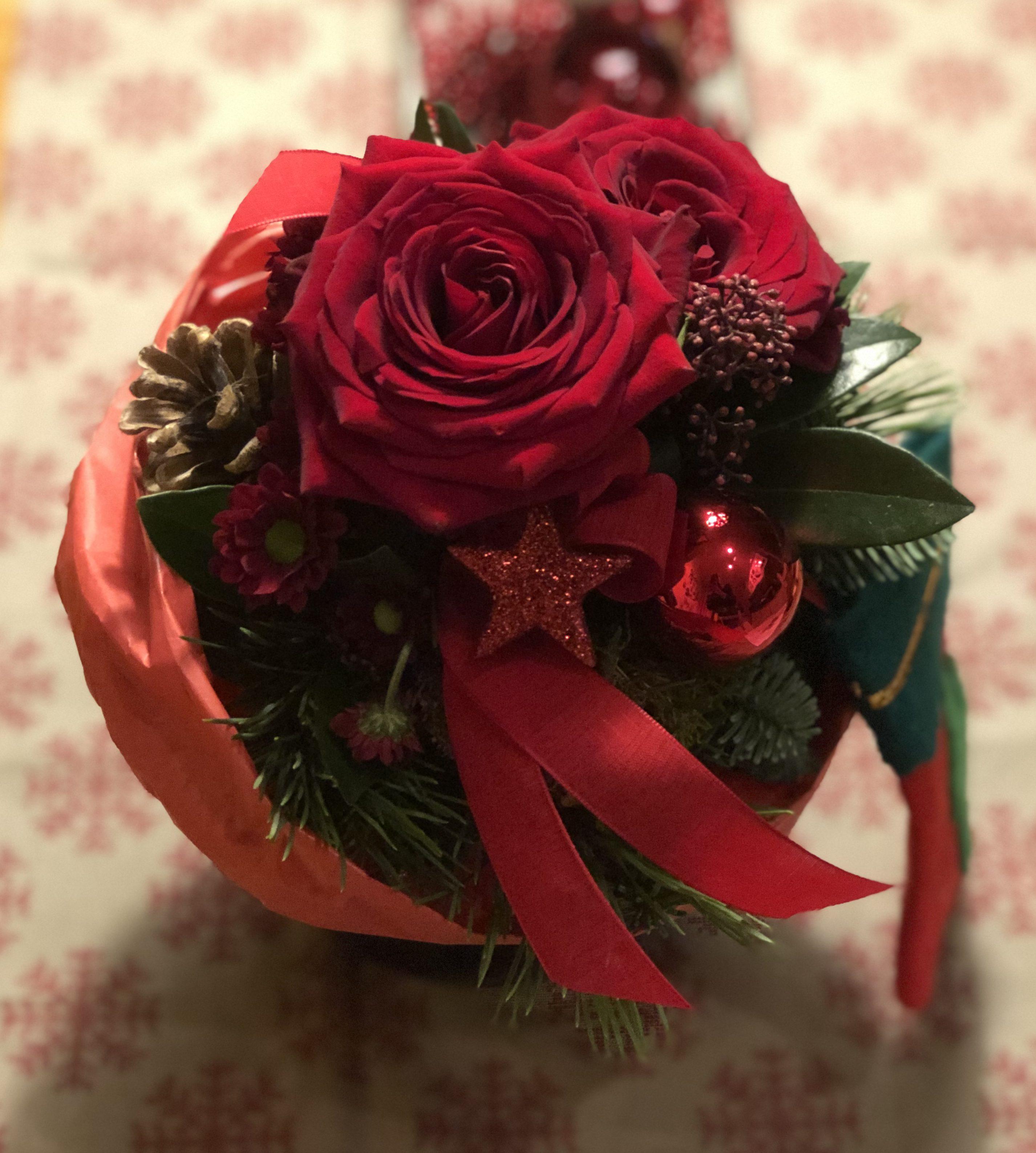 Blumen zu Weihnachten